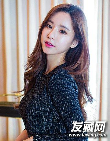 最新流行长发发型 韩式个性妩媚大卷发型(8)图片