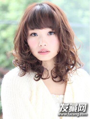 中长发女生首选发型 内卷梨花头造型(9)