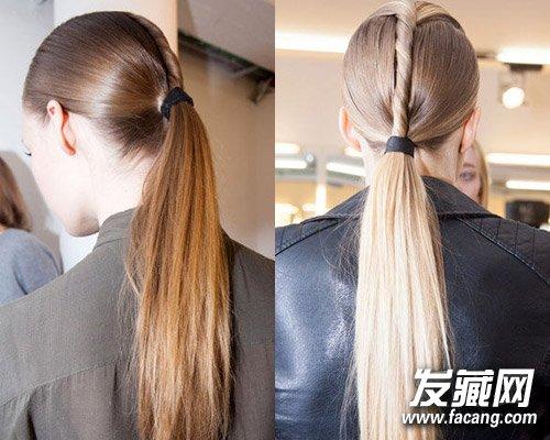 发型网 女生发型 马尾发型 > 马尾辫的6种扎法 春夏百搭斜扎低马尾辫