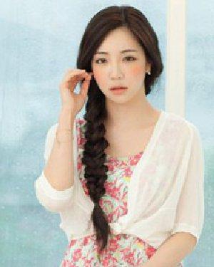 春夏女生最适合发型 温婉韩式发型设计