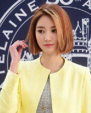 韩国女星发型红黑榜 渐变色短发质感十足