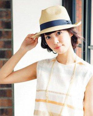 阳光四溢的活力感发型 戴帽子适合的编发diy