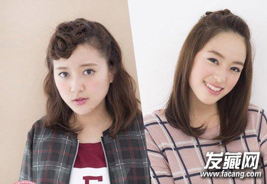 有刘海发型怎么扎 内扣直发展现清纯甜美气质图片