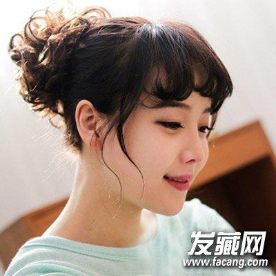 齐刘海怎么弄好看 可爱的齐耳短发发型(3)