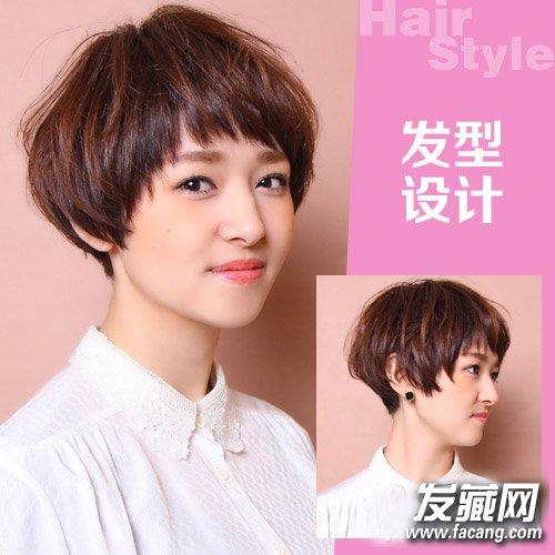 简单短发波波头发型 15款波波头百搭各种脸型(3)