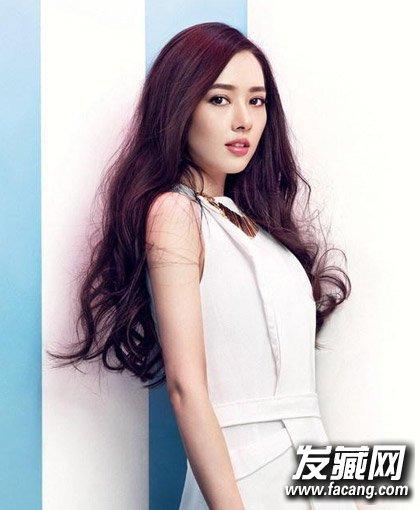 《结婚吧》郭碧婷发型 凌乱的卷发女神范儿十足(6)图片