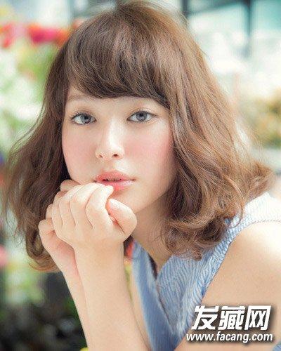 【图】韩式最新发型 短发梨花头可爱甜美