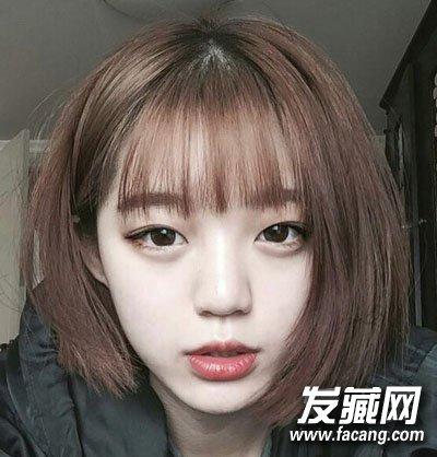 郭碧婷素颜短发