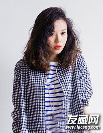 小清新最爱中短发发型 蛋卷头活泼可爱(6)