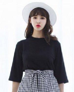 甜美的齐刘海 9款发型矮个女也显高