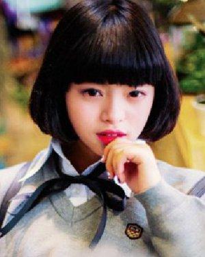 短发&中长发 甜美可爱的短发蘑菇头发型