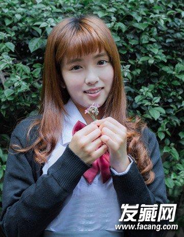 短发&中长发 甜美可爱的短发蘑菇头发型(5)