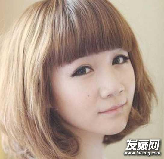 15最流行学生韩版短发梨花头