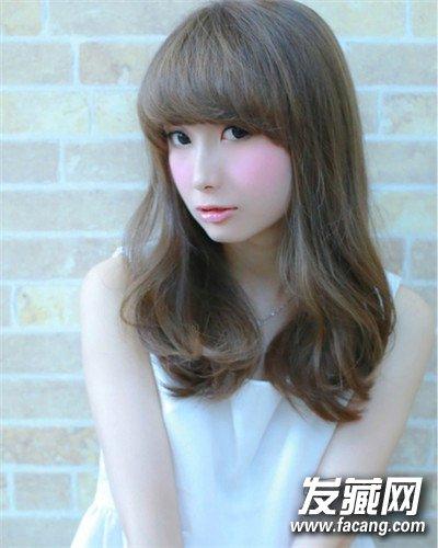 【图】微卷的韩式长发发型推荐图片