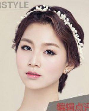 9款韩国新娘发型设计 展现最美新娘look
