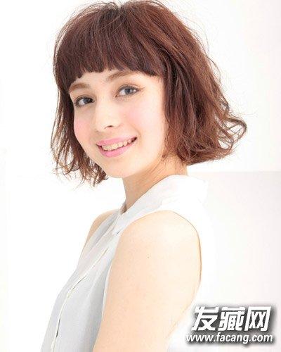 女人味十足的短发发型 9款发型可爱翻倍(6)