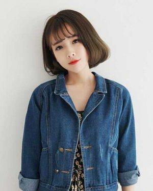韩国空气刘海发型盛行 韩国空气刘海短发发型