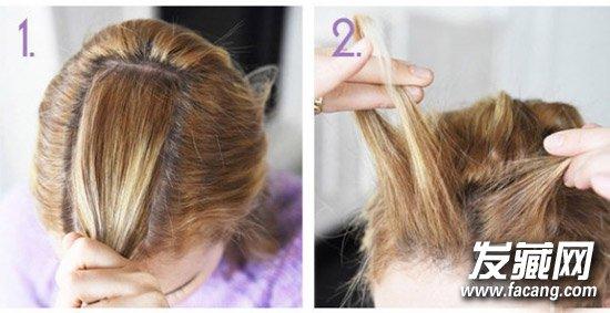 【图】学元气少女陈意涵扎发型图片