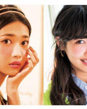 编发+发饰 diy夏日最甜美女生发型