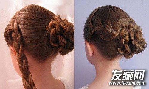 陈妍希中式新娘发型曝光