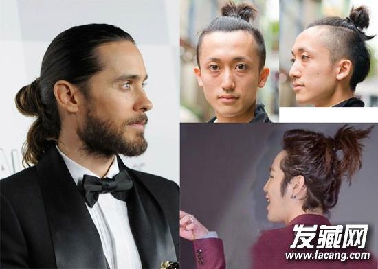 男生齐刘海发型 修颜时尚又帅气      要留这款发型你需要有点艺术家图片