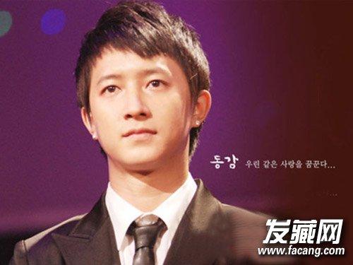 发型网 男生发型 韩式男发型 > 韩国男生栗子头发型 剪到清爽的寸头长