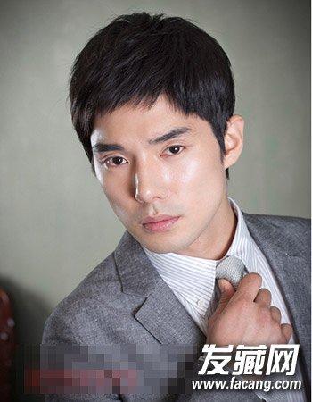 【图】帅气有型韩式男生短发发型