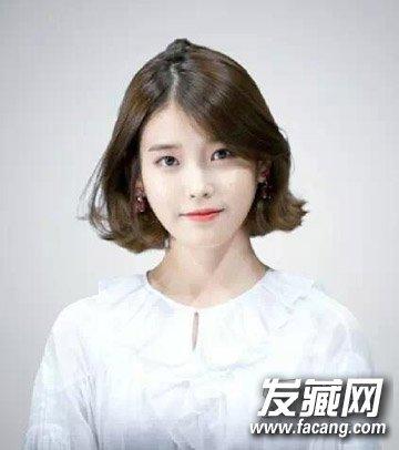 中分短发也是短发发型 韩式外翘卷发成亮点(7)图片