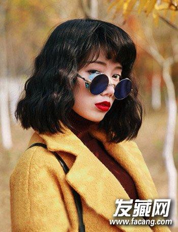 韩式水波纹发型图片 这样烫卷才好看(6)图片