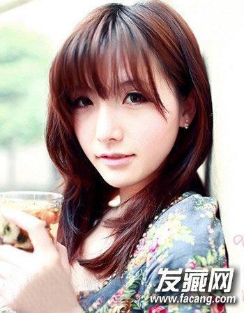 中长发怎么烫好看 十分甜美吸睛的女生中长发发型(2)