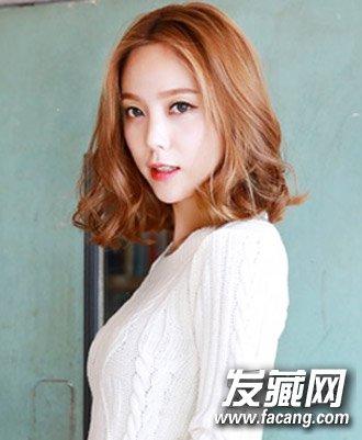 中短发怎么弄好看 韩式个性烫发发型(6)图片