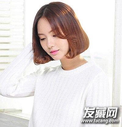 今夏最流行的韩式中短发 90后女生最爱清新发型图片