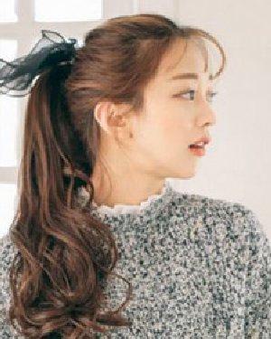 流行韩式发型盘点 绚丽发色是亮点