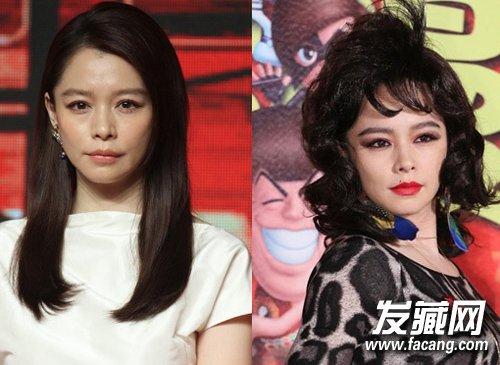 女星长短发对比 唐嫣日常造型甜美可爱(7)