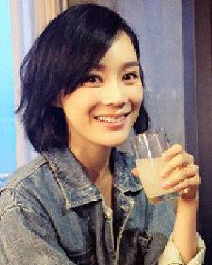 袁姗姗也剪了短发 你都不知道自己到底有多美