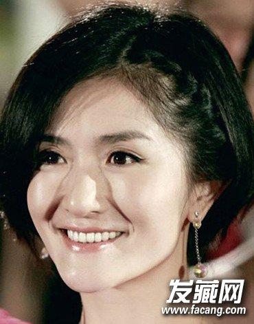 谢娜经典短发发型盘点(3)