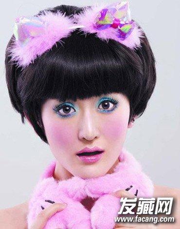 谢娜经典短发发型盘点(5)