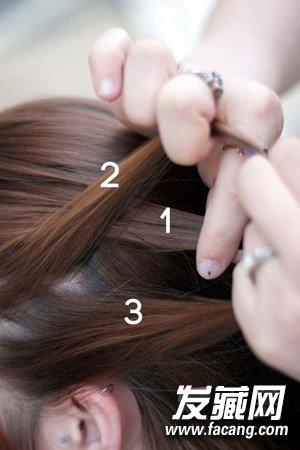 编头发的步骤及图片 教你编花式麻花辫(3)