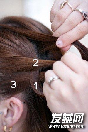 编头发的步骤及图片 教你编花式麻花辫 5