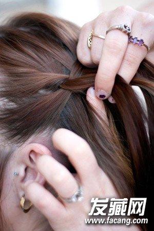 【图】编头发的步骤及图片