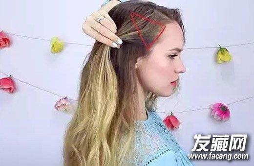 中长发怎么扎头发好看 气质侧编发图解(2)