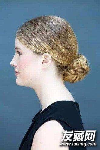 发型网 发型设计 麻花辫发型 > 夏日就要学盘发 麻花辫发髻&包包头图片
