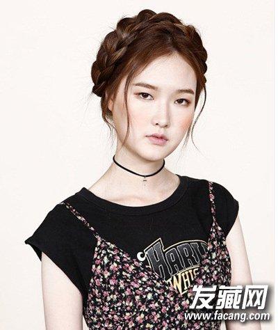 中长发怎么扎 3款韩式发型扎法很时髦(4)