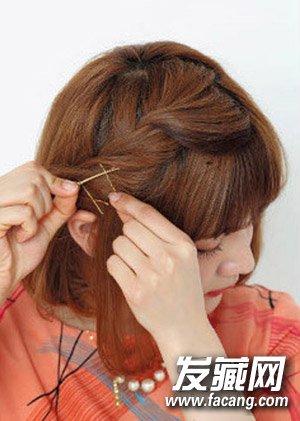 短发怎么扎好看 夏季2款最新短发扎法(3)