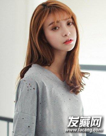 空气刘海适合什么脸型 气质的森女风发型(7)图片