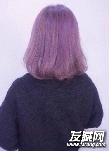 今年流行的渐层灰色染发 给头发染个极浅发 →秋冬特殊发色 秋冬图片