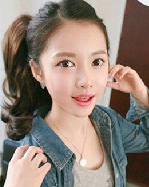 夏季长发怎么扎 最新韩式扎发清爽可爱
