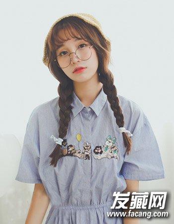 麻花辫编发大全 清新可爱女生发型图片(2)