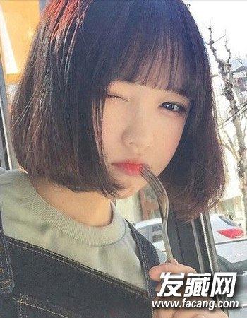 干净利落有清爽 最适合郭采洁短发发型 →刘诗诗郭采洁 气质女神图片
