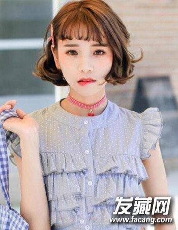 2016韩式超短发